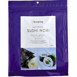 Alga Nori especial para sushi 17g