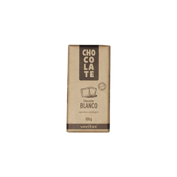 Chocolate blanco 100g