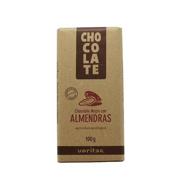 Chocolate de almendras 100g ECO