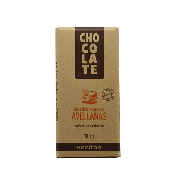 Chocolate de avellanas 100g