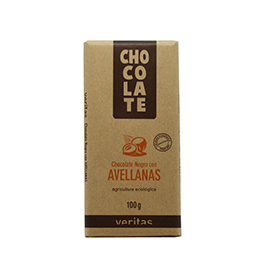 Chocolate de avellanas 100g ECO