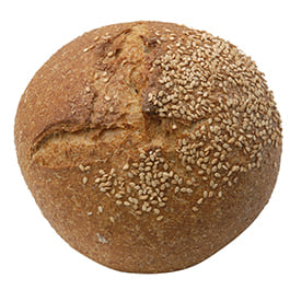 Pan redondo con centeno 500g