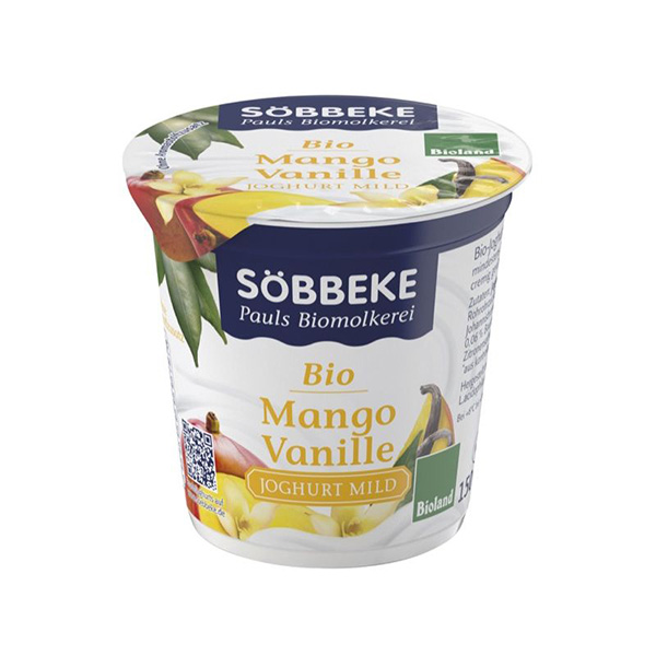 Yogur de mango y vainilla 150g ECO