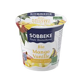 Yogur de mango y vainilla 150g