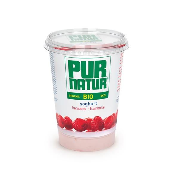 Yogur con Frambuesa 500g ECO