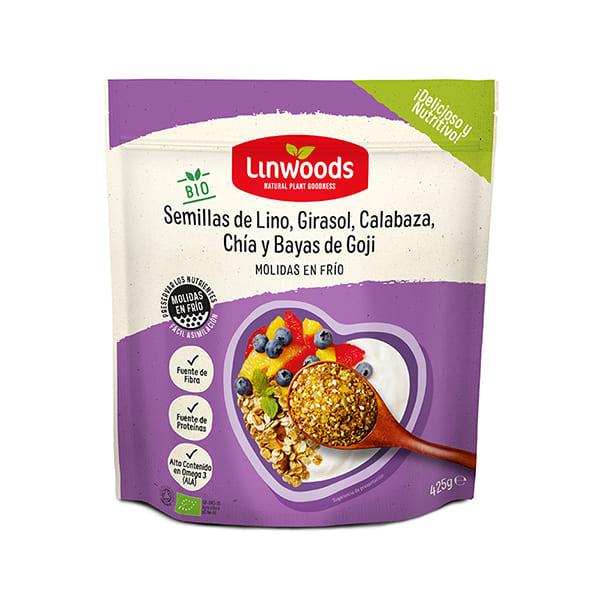 Mix de semillas con goji 425g ECO