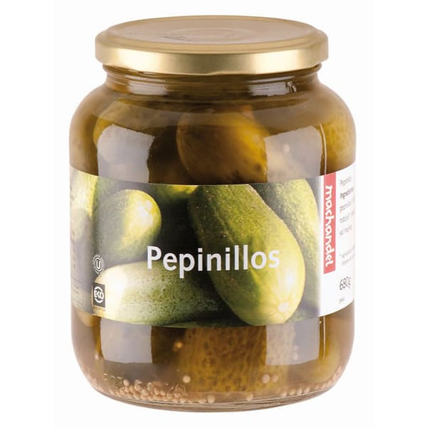 Pepinillo Machandel350g ECO