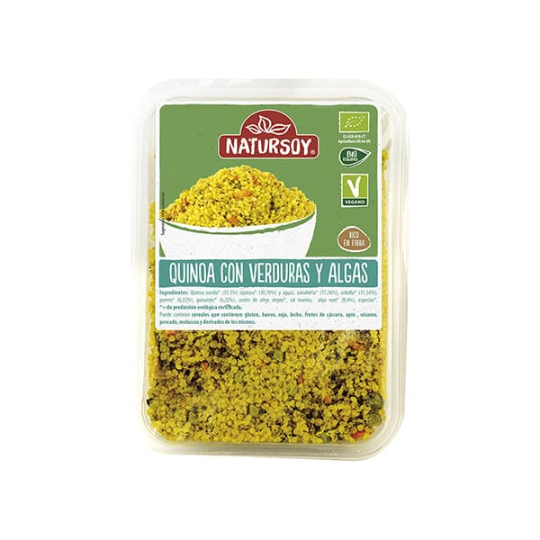Quinoa con verduras 300g