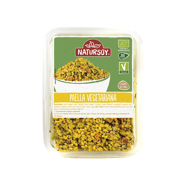 Paella vegetariana 300g ECO
