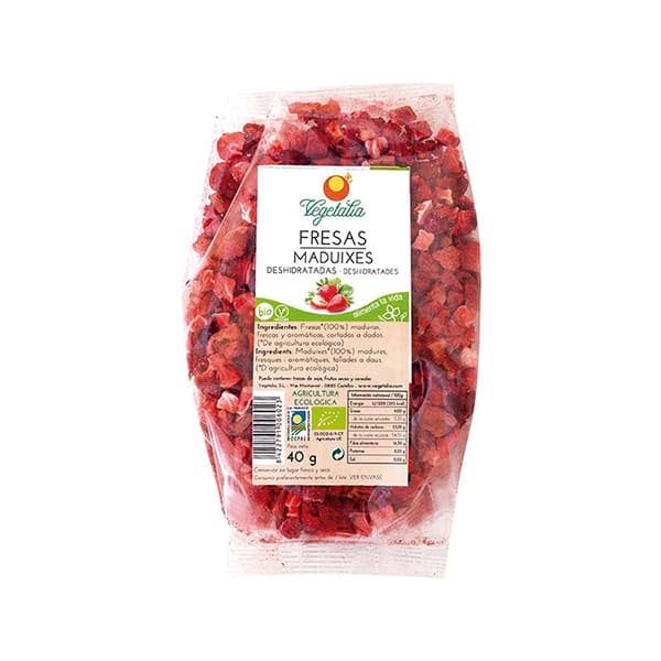 Fresas liofilizadas 40g