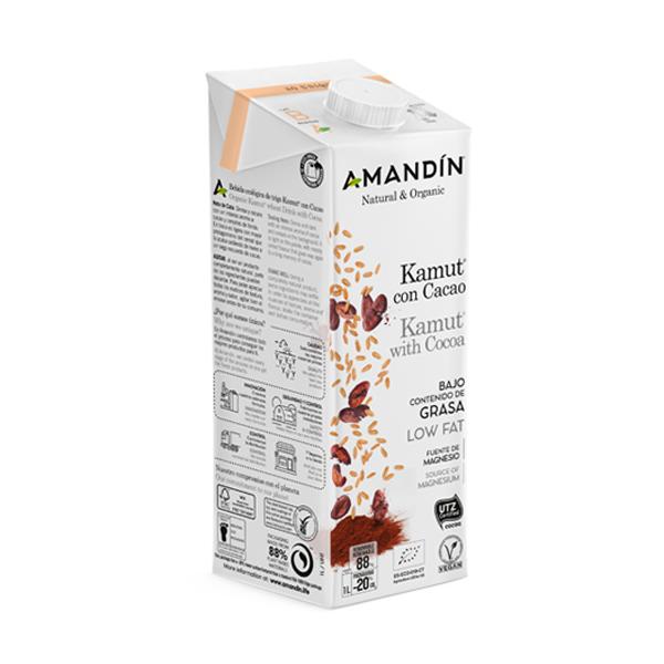 Bebida de kamut con cacao 1l ECO