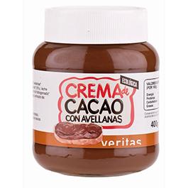 Crema de cacao con avellana 400g