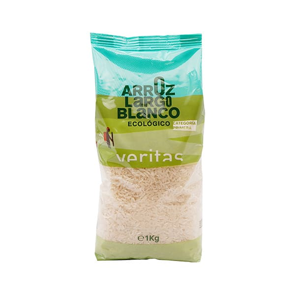 Arroz largo blanco 1kg ECO