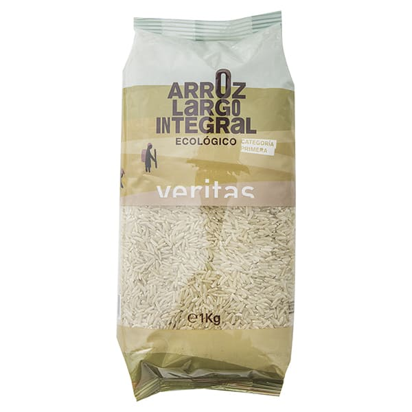 Arroz integral largo 1kg ECO