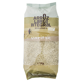 Arroz integral largo blanco 1kg