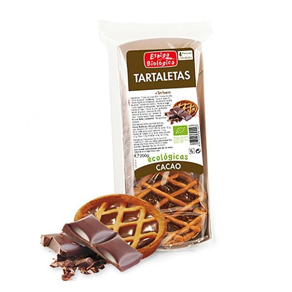 Tartaleta de chocolate 200g ECO
