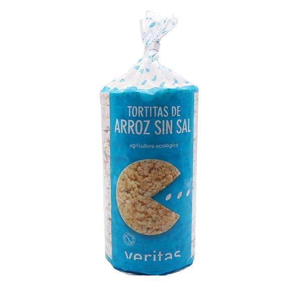 Galetes d'arròs sense sal 100g ECO