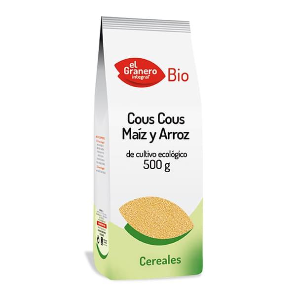 Cuscús de blat de moro i arròs 500g ECO