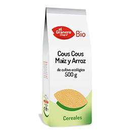 Cuscús de maíz y arroz 500g