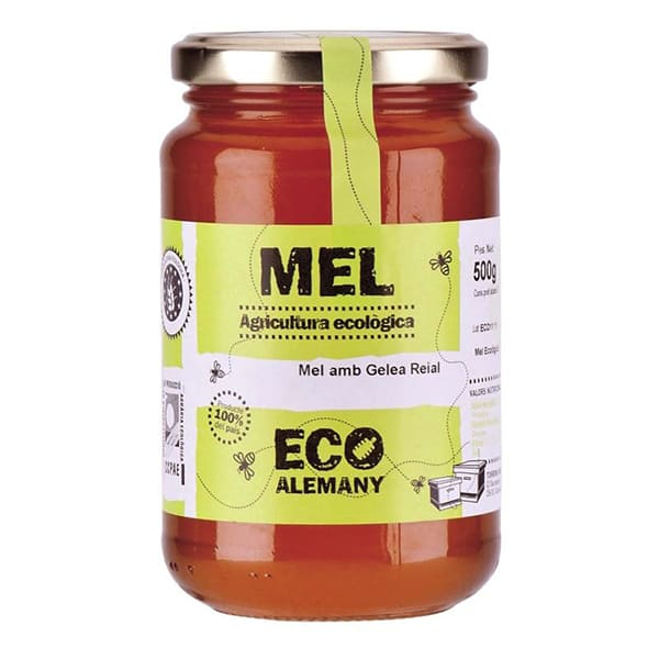 Miel con jalea real 500g ECO