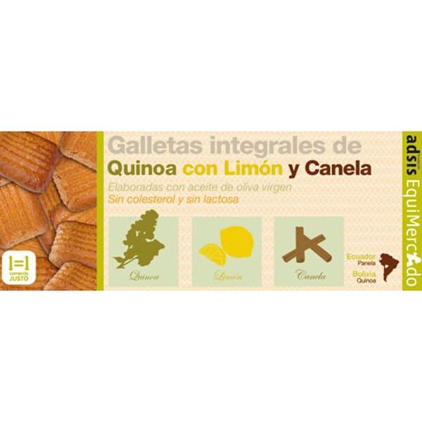 Galletas quinoa c/limon y ca. ECO