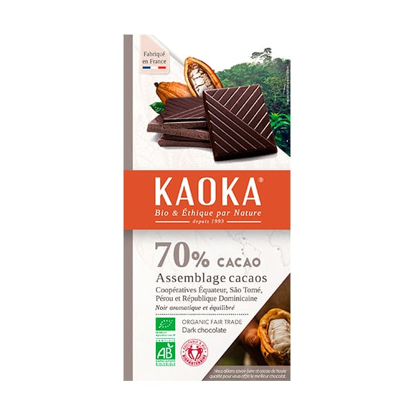 Chocolate Negro 70% 100g ECO
