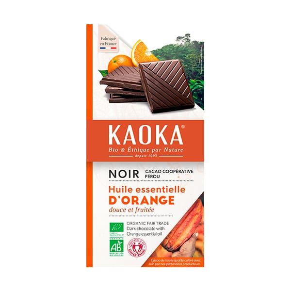 Chocolate con naranja 100g ECO