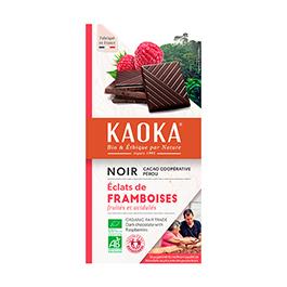 Chocolate con frambuesa 100g ECO