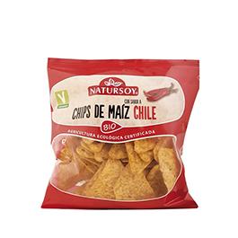 Nachos Chili Natursoy 75g ECO