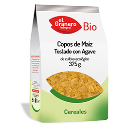 Copos de maíz c/sirope ágave ECO