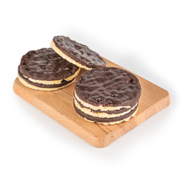 Tortitas de maíz con chocolate 95g