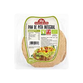 Pan de pita integral 250g ECO