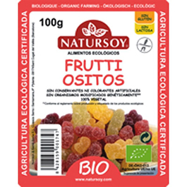 Ositos Fruta Nat100g ECO