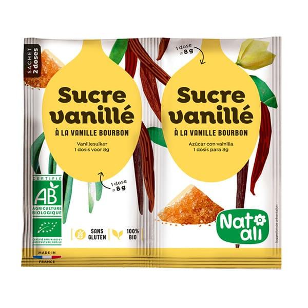 Azúcar con vainilla 2x8g ECO