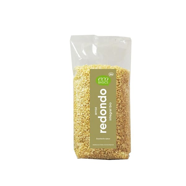 Arroz redondo integral 500g ECO
