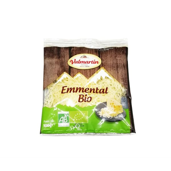 Queso emmental rallado 100g ECO