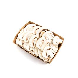 Bandeja de champiñón laminado 250g