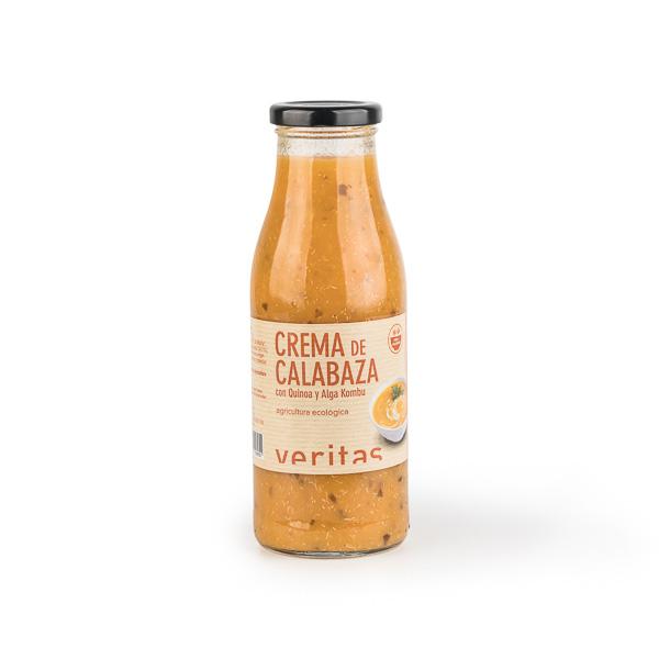 Crema de calabaza con quinoa 500ml ECO