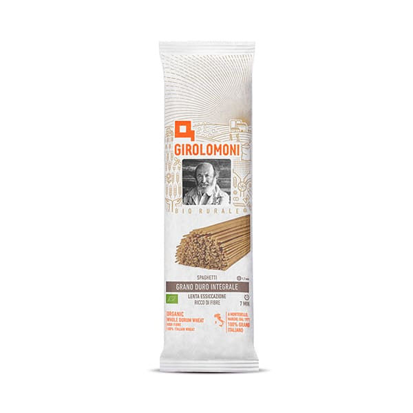 Espaguetis integrales 500g ECO