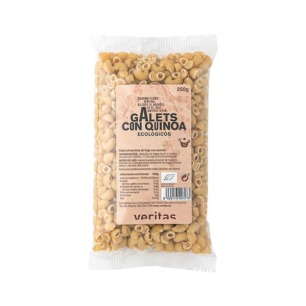 Galets con quinoa Veritas 250gr ECO