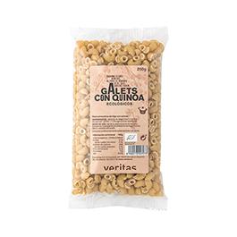 Galets amb quinoa Veritas 250gr ECO