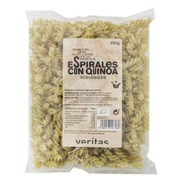 Espirales con quinoa 250g