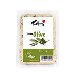 Tofu con olivas 200g