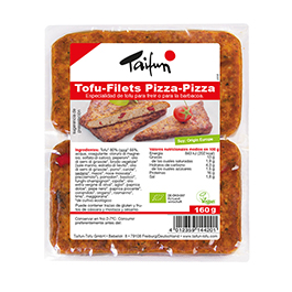 Filetes de tofu amb pizza 160g