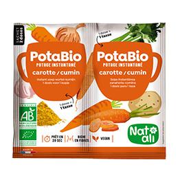 Sopa de pastanaga i comí 2x8,5g