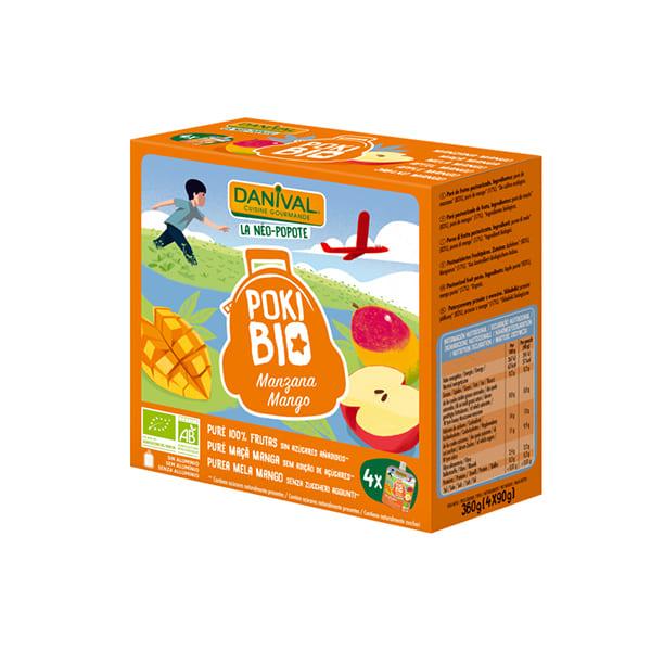 Poki de mango 4x90g
