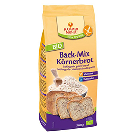 Mezcla harina para pan c/semillas 500g