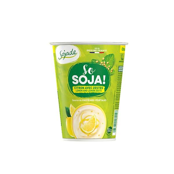 Postres de soja con limón 400g ECO