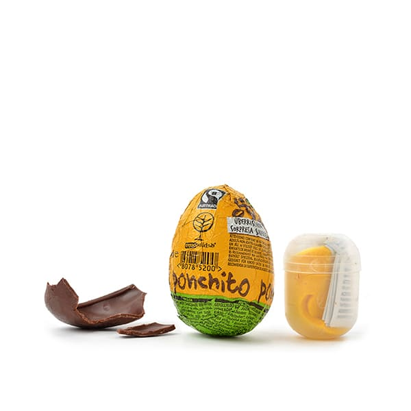 Huevo de chocolate c/sorpresa ECO