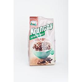Crunchy chocolate negro c/avellanas 375g